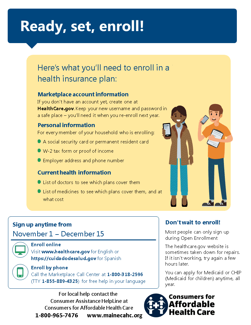 Affordable Health Insurance >> Individual Private Insurance Maine Consumers For Affordable Health